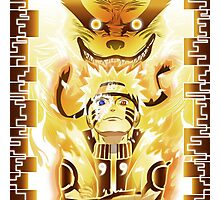 The Nine Tails Jinchuuriki Photographic Print
