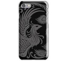Traditional Dark Chinese Phoenix Circle iPhone Case/Skin