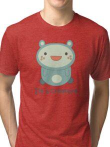 Cute Cartoon Creature Tri-blend T-Shirt