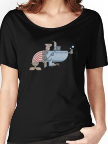 Pirate Whale Women's Relaxed Fit T-Shirt
