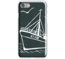 Ross Tiger in Grey iPhone Case/Skin