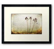 Then There Were Three Framed Print