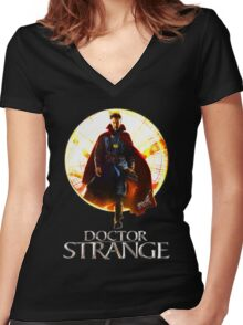 Mastery of magic Women's Fitted V-Neck T-Shirt