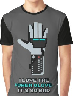 I love the Power Glove Graphic T-Shirt