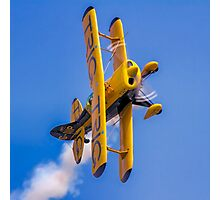 Pitts S-1D Special G-IIIP on the knife edge Photographic Print