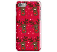 Reindeer pattern 2 iPhone Case/Skin