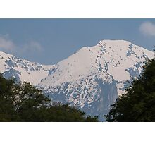 snowy mountain Photographic Print