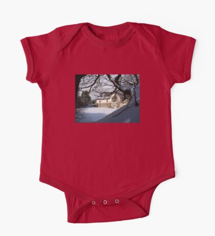 DREAMING OF DEVON IN THE SNOW One Piece - Short Sleeve