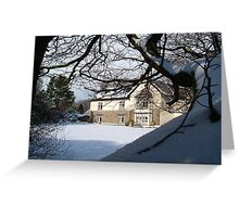 DREAMING OF DEVON IN THE SNOW Greeting Card