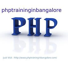 Php training in Bangalore by phptraining