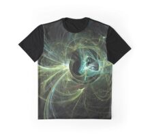 Mechanical Landscape with Speculative Poetry Graphic T-Shirt
