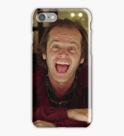 Jack Nicholson The Shining Still - Stanley Kubrick Movie iPhone Case/Skin