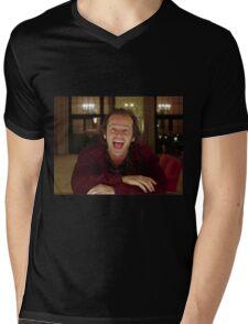 Jack Nicholson The Shining Still - Stanley Kubrick Movie Mens V-Neck T-Shirt