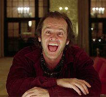 Jack Nicholson The Shining Still - Stanley Kubrick Movie by Starforest