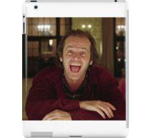 Jack Nicholson The Shining Still - Stanley Kubrick Movie iPad Case/Skin
