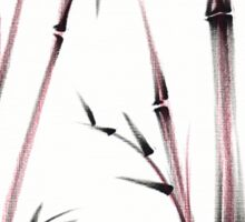 Tenderness  -  Sumie dry brush pen bamboo painting Sticker