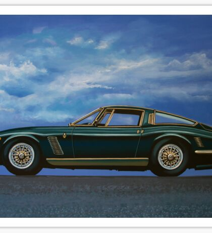 Iso Grifo GL Painting Sticker