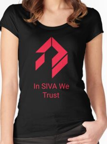 Destiny - In SIVA We Trust Women's Fitted Scoop T-Shirt