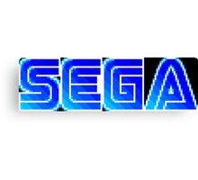 Sega Logo Canvas Print