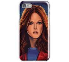 Julianne Moore Painting iPhone Case/Skin