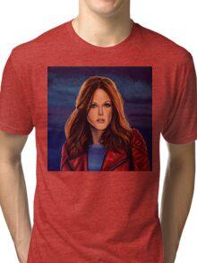 Julianne Moore Painting Tri-blend T-Shirt