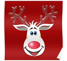 Happy Rudolph - The Red Nosed Reindeer Poster