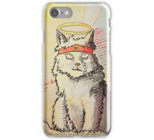 Art Babe Kat iPhone Case/Skin