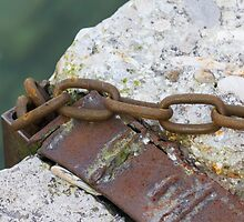 old rusty chain by spetenfia