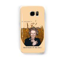 JD Salinger's Thatcher in the Rye Samsung Galaxy Case/Skin