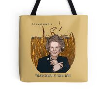 JD Salinger's Thatcher in the Rye Tote Bag