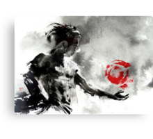 Inner Qi Workout Canvas Print
