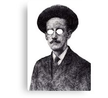 James Joyce - Irish Author Canvas Print