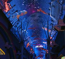 LAS VEGAS Freemont Experiance The Biggest Screen On The Planet - PILLOWS AND OR TOTE BAGS by ✿✿ Bonita ✿✿ ђєℓℓσ