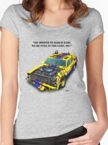 Big Bopper4 Women's Fitted Scoop T-Shirt