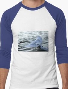 swan on the lake Men's Baseball ¾ T-Shirt