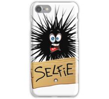 Selfie Fun Cartoon Face iPhone Case/Skin