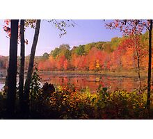 New England Autumn Foliage Photographic Print