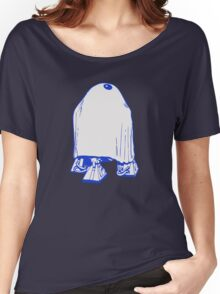 HALLOWEEN DROID GHOST Women's Relaxed Fit T-Shirt