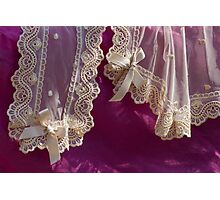 curtains and accessories Photographic Print