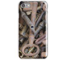 old keys iPhone Case/Skin