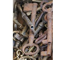 old keys Photographic Print