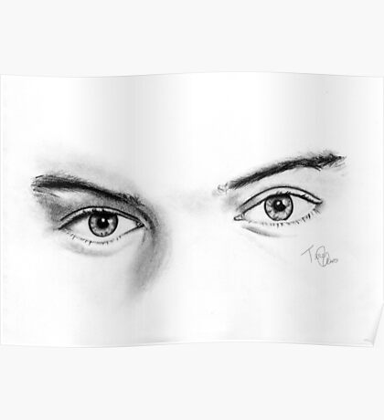 Harry Styles Eyes Poster