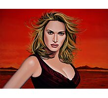 Kate Winslet Painting Photographic Print