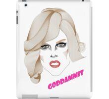 Willam - Goddammit iPad Case/Skin