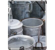 old pots and pans iPad Case/Skin