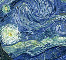 Vincent Van Gogh - The Starry night  Sticker