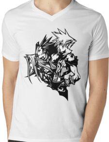 Sephiroth, Zack and Cloud Mens V-Neck T-Shirt