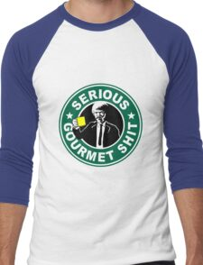 Serious Gourmet Shit Men's Baseball ¾ T-Shirt