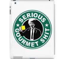 Serious Gourmet Shit iPad Case/Skin