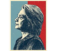 Vote Now - Hillary Photographic Print
